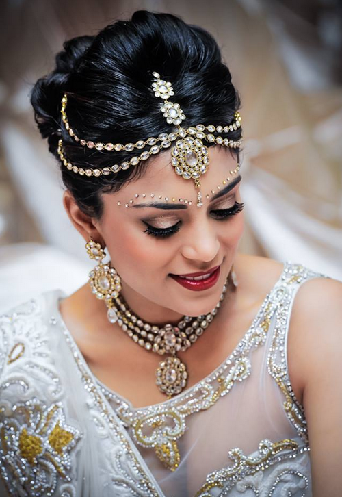 latest indian bride hairstyle