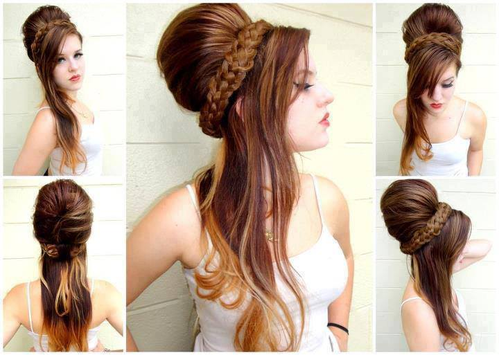 latest best fashionable women hairstyle