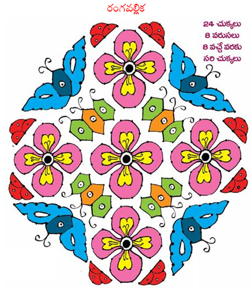 best rangoli designs for sakranthi