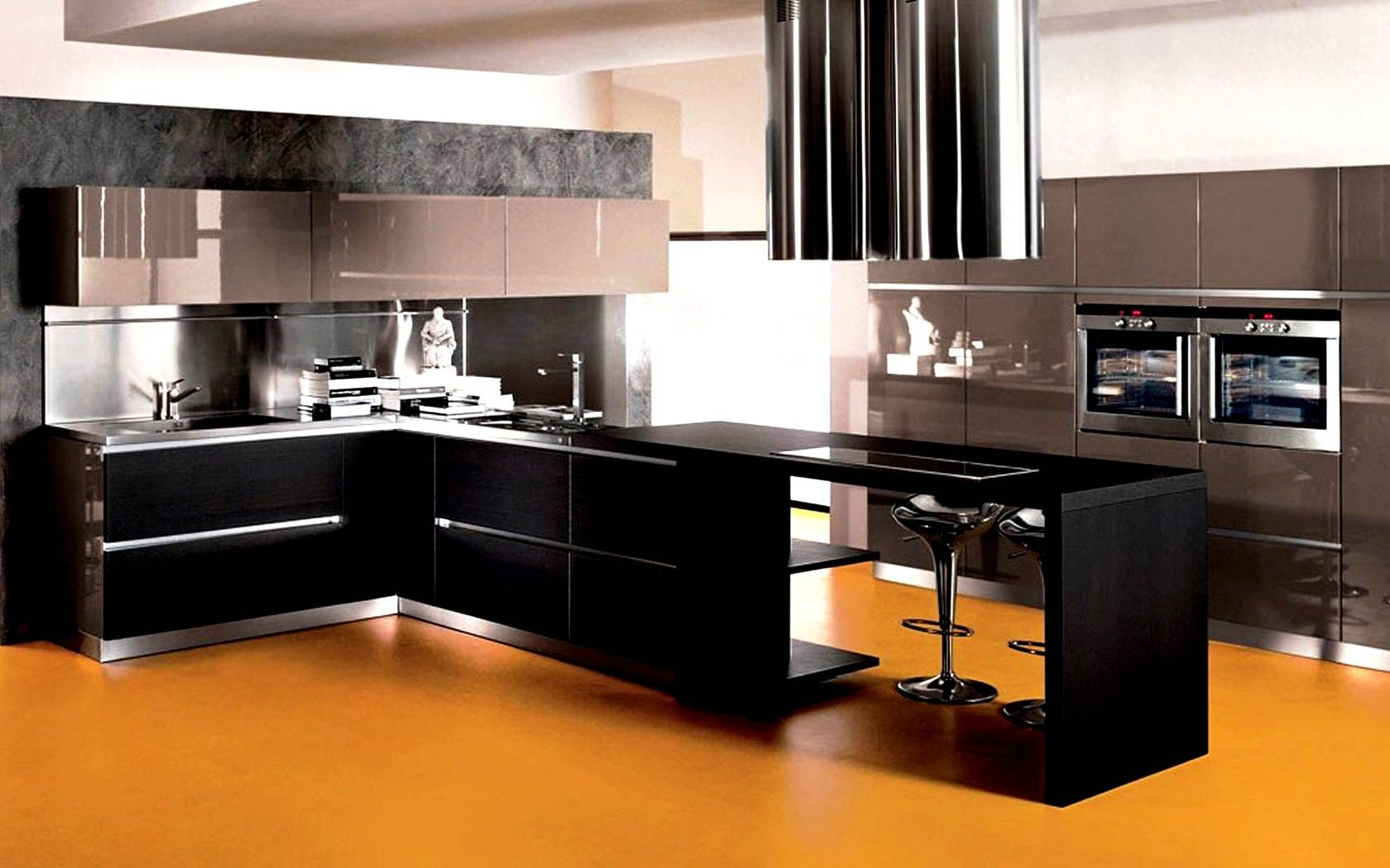 U Shaped Modular Kitchen Design Images
