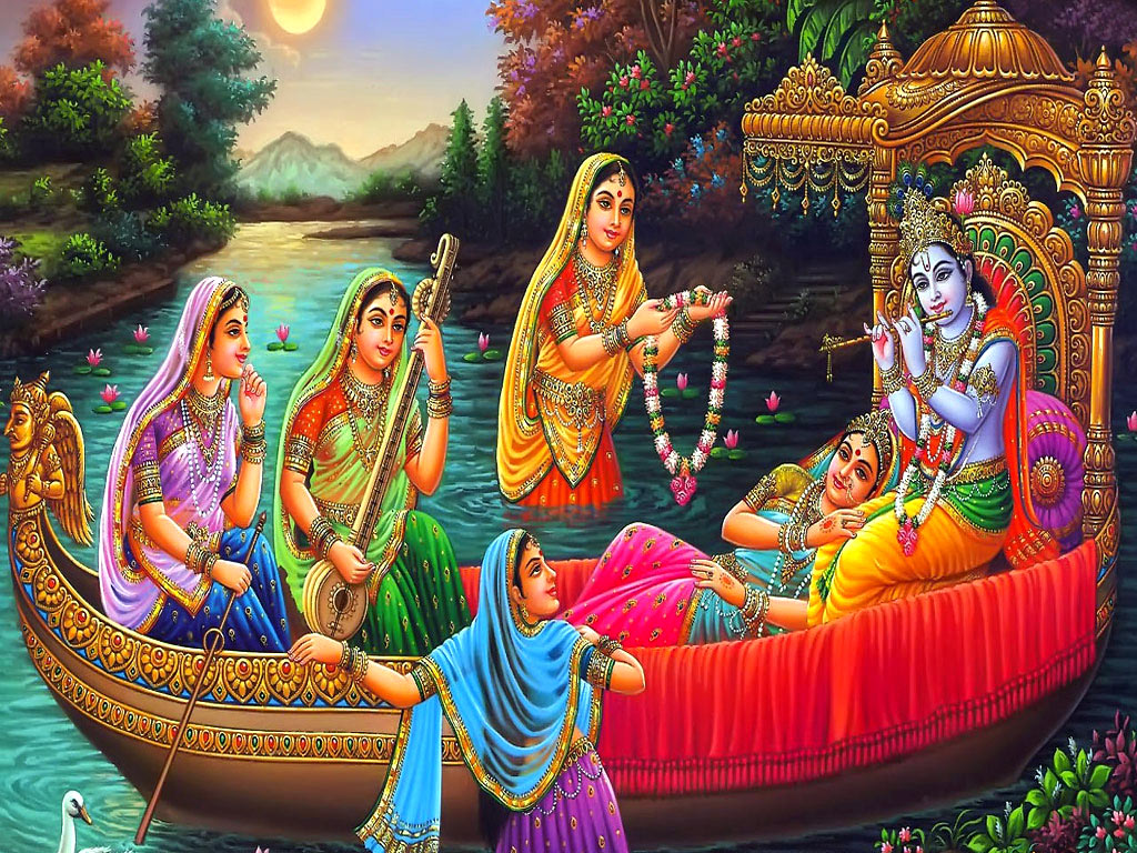 Lovely Radha And Krishna Wallpapers