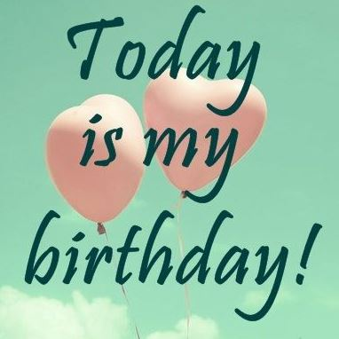 happy birthday wishes for me