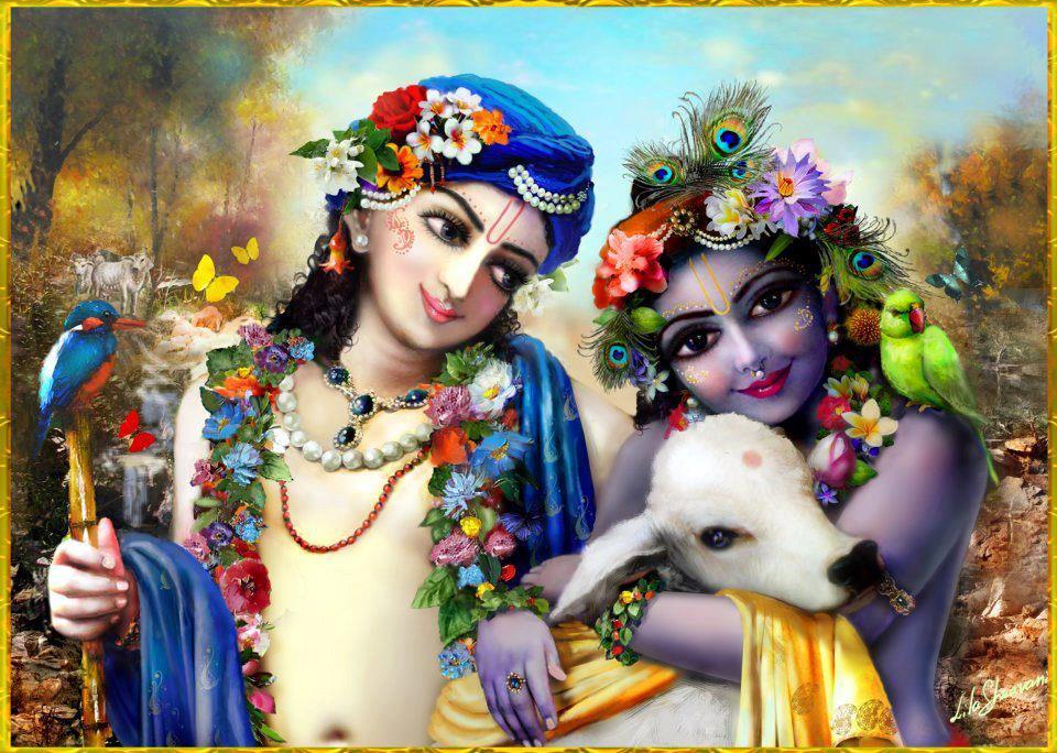 Krishna And Flute HD 1080p Desktop HD Wallpapers