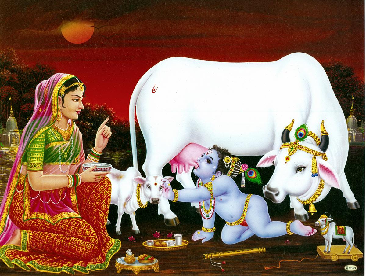 Bal Krishna Janmashtami Beautiful HD Wallpapers