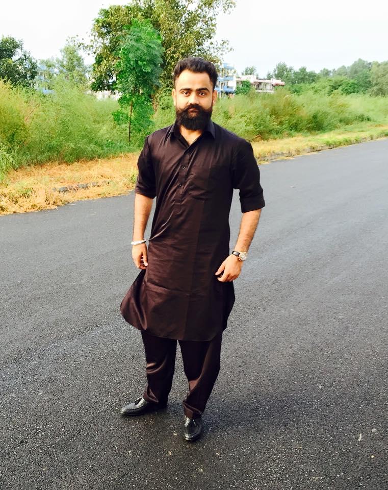 black kurta pajama designs