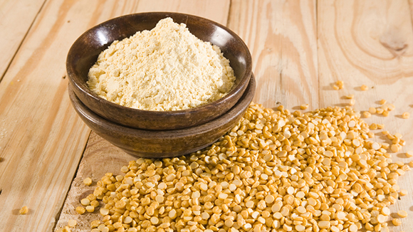 gram flour benefits for skin and hair