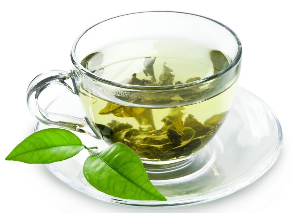 green tea for sore throat