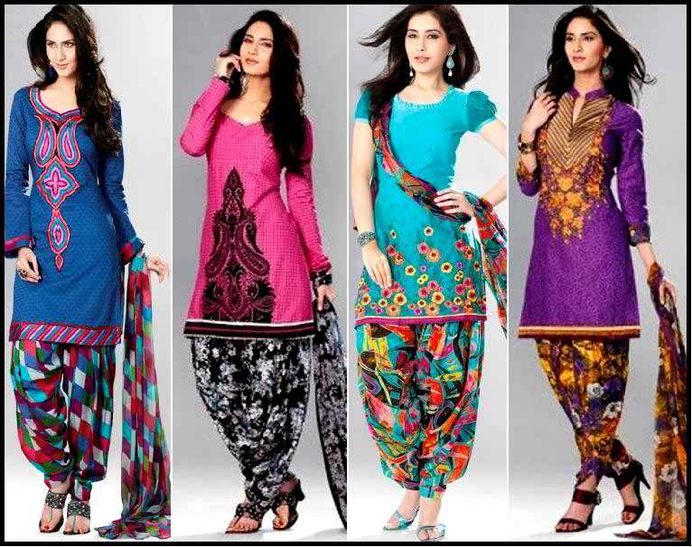 Designer Patiala Punjabi Suits Designs Latest Collection