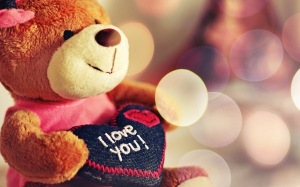 love teddybear wallpaper