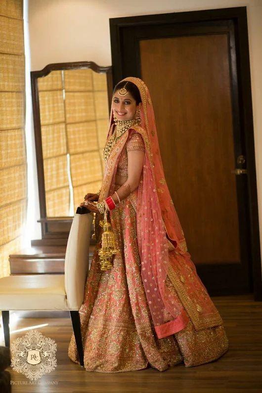 Beautiful Bridal Lehenga Photos