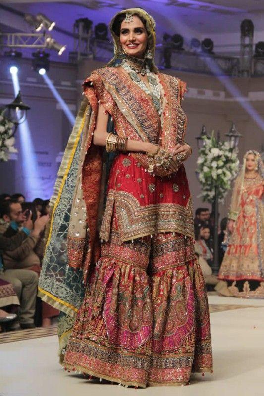 pakistani bridal lehanga