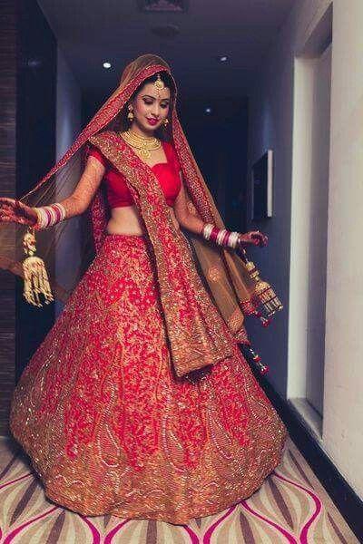 most beautiful bridal lehanga