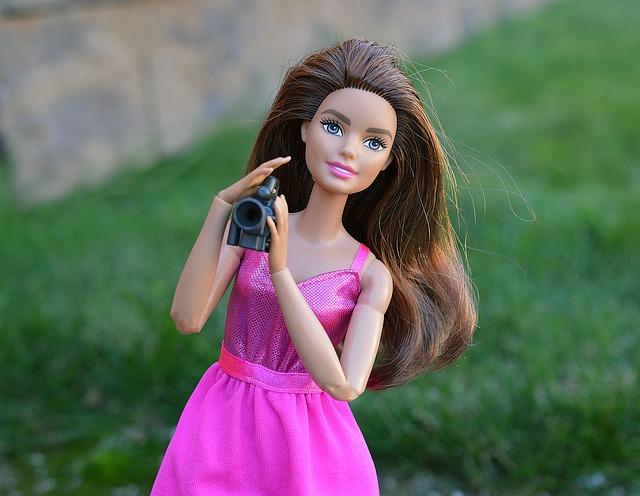 barbie doll photographs