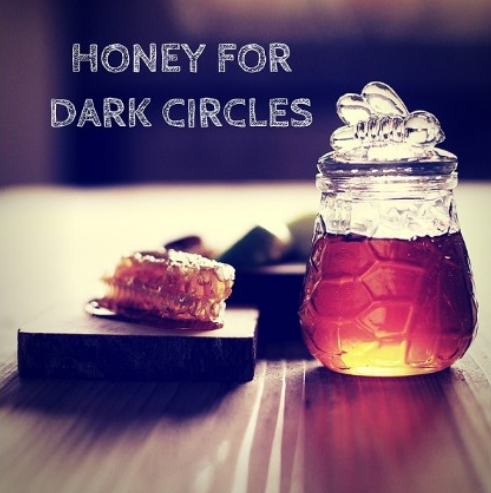 Honey Prevents Dark Circles