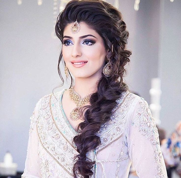 Indian Loose Hair Wedding Hairstyles: Top 30 Most Beautiful Indian Wedding Bridal Hairstyles For