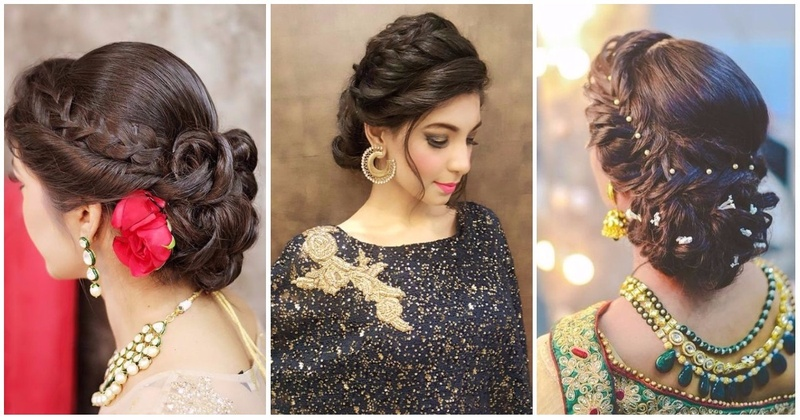 Hair Styles For Short Hair Brides: Top 30 Most Beautiful Indian Wedding Bridal Hairstyles For