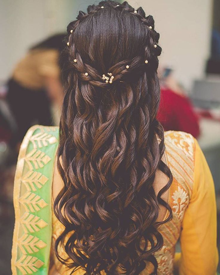 Wedding New Hair Style: Top 30 Most Beautiful Indian Wedding Bridal Hairstyles For