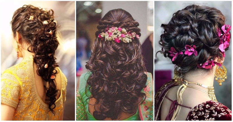 Beautiful Bridal Hairstyle For Long Hair: Top 30 Most Beautiful Indian Wedding Bridal Hairstyles For