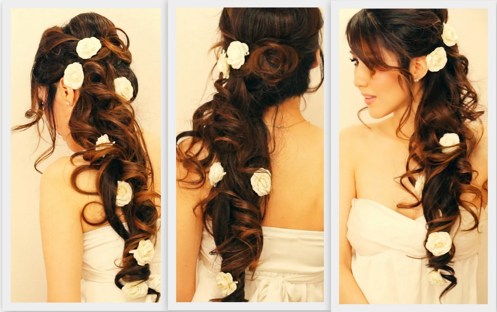 30 Beautiful Wedding Hairstyles: Top 30 Most Beautiful Indian Wedding Bridal Hairstyles For