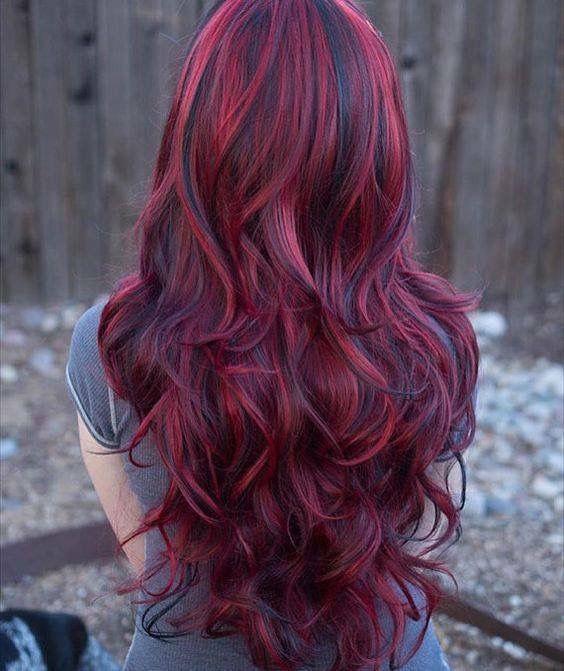 medium brown hair with highlights