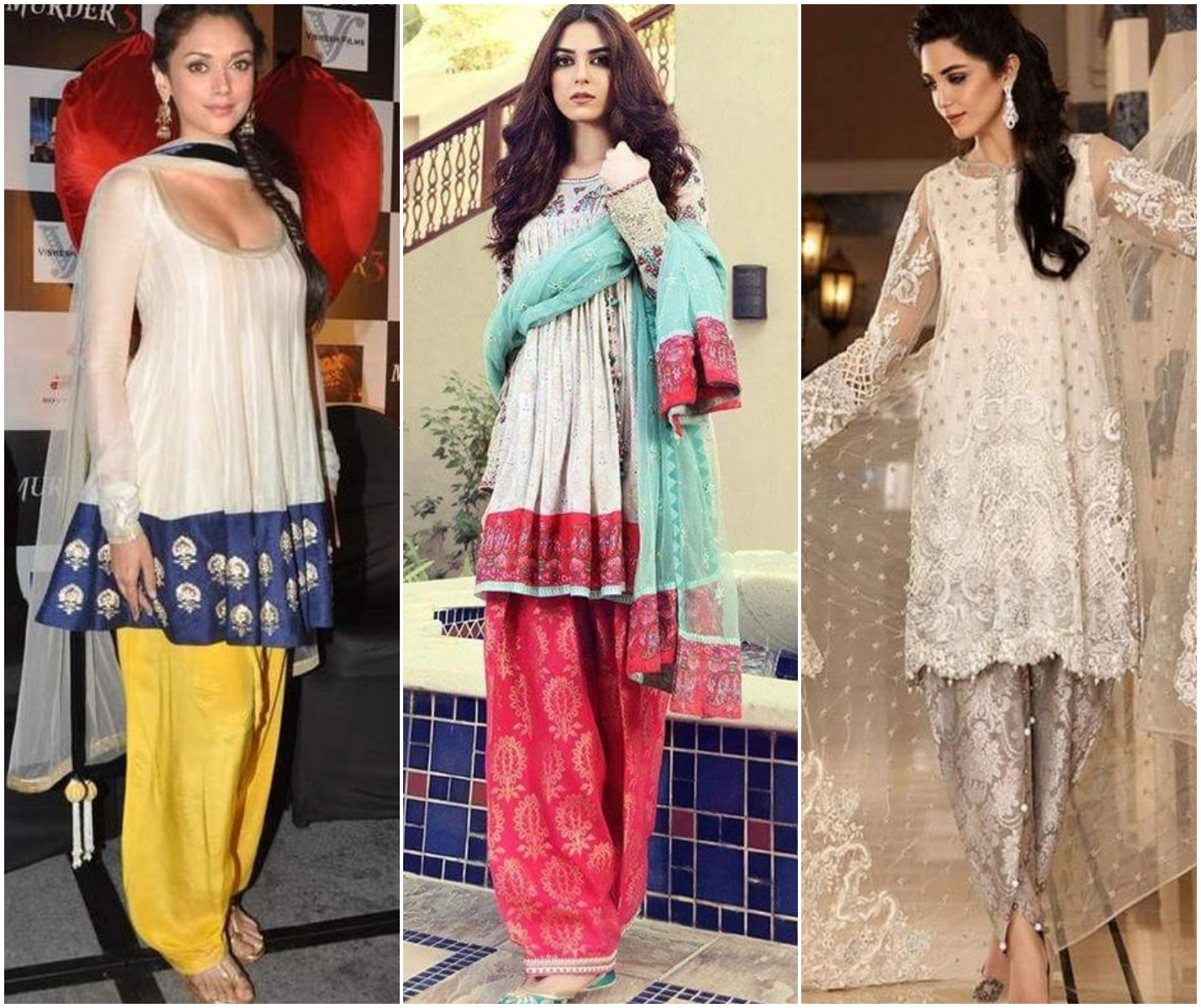 Frock Style Salwar Suit
