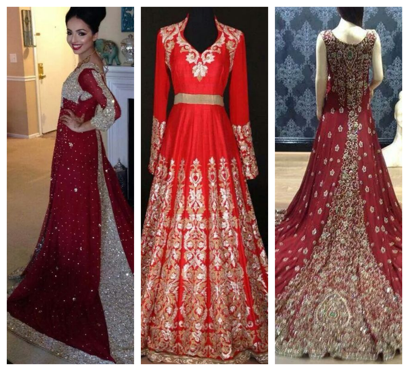 Indian Bridal Gowns Online