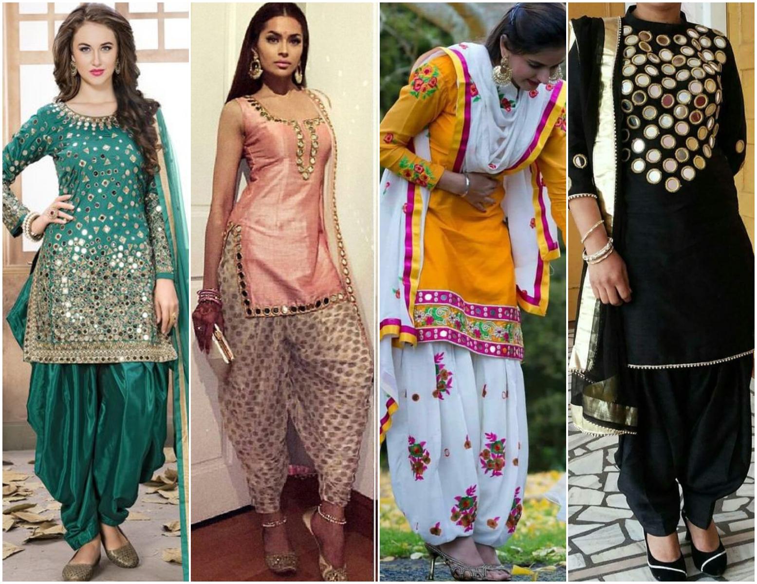 Mirror Work Salwar Suit