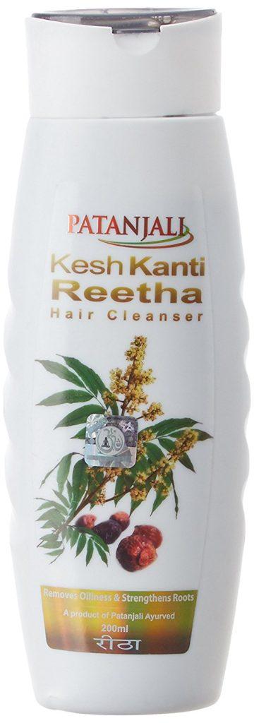 Patanjali Kesh Kanti Reetha Hair Shampoo